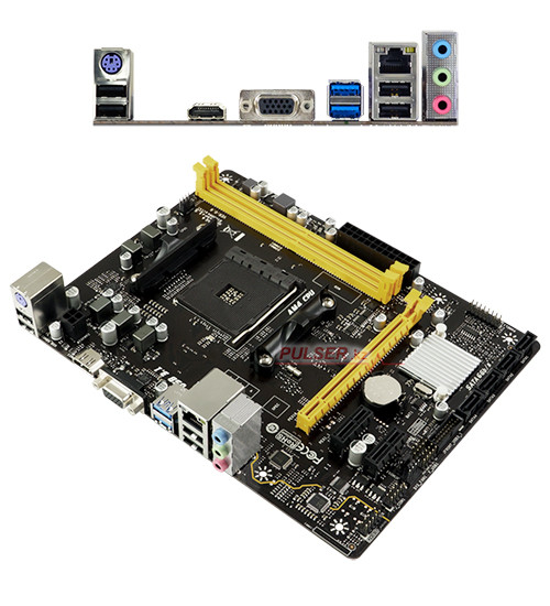 Материнская плата Biostar A320MH MB Socket AM4, MATX, AMD A320 (VGA+HDMI, SB, GNIC) 2DDR4, PCIx16, 2PCIx1