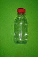 Бутылка ПЭТ 0,3 широкое горло, круглая