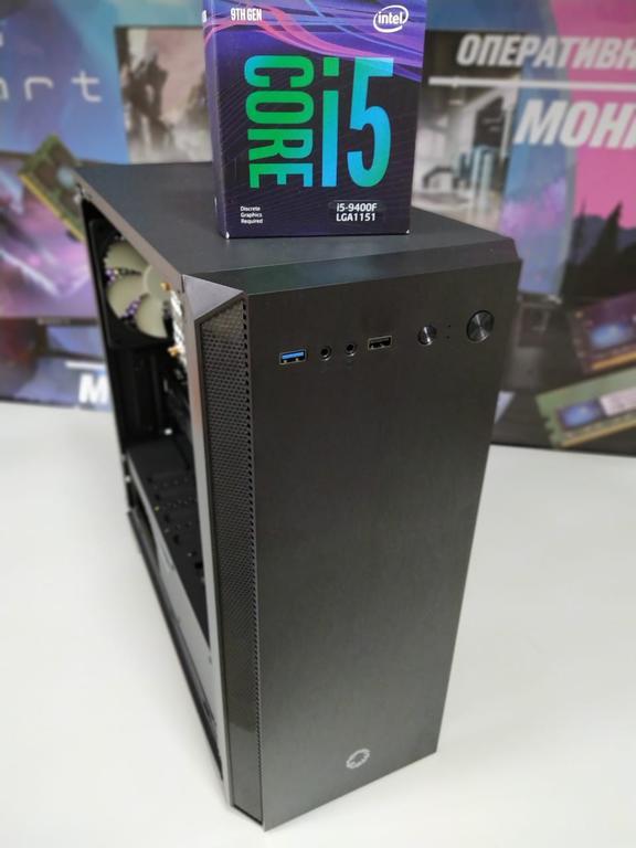 Сборка компьютера для работы, на процессоре i5 9400F.