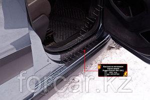 Накладки на внутренние пороги дверей Peugeot Partner 2007-2012