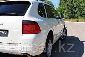 Накладки на задние фонари (Реснички) Porsche Cayenne 2002-2010