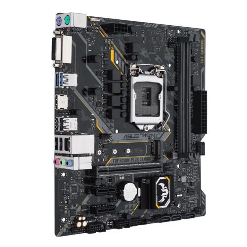 Материнская плата ASUS TUF H310M-PLUS GAMING MB Socket1151, MATX, iH310 (DVI+HDMI, SB, GNIC), 2DDR4, PCIx16,2P