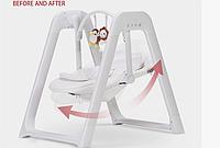 Детское электрическое кресло качалка для малышей