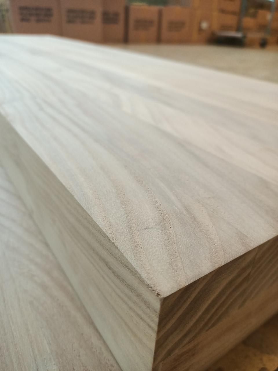 Мебельный щит Карагач (шлифованный) Толщиной 40 мм.