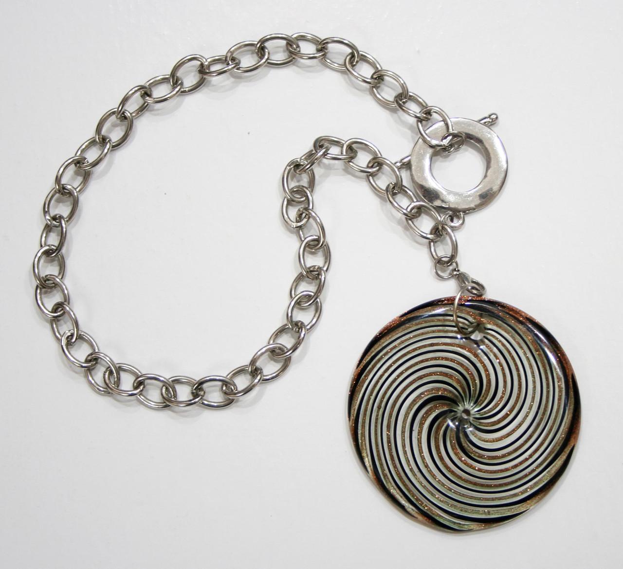 Ожерелье из муранского стекла, ручная работа Италия