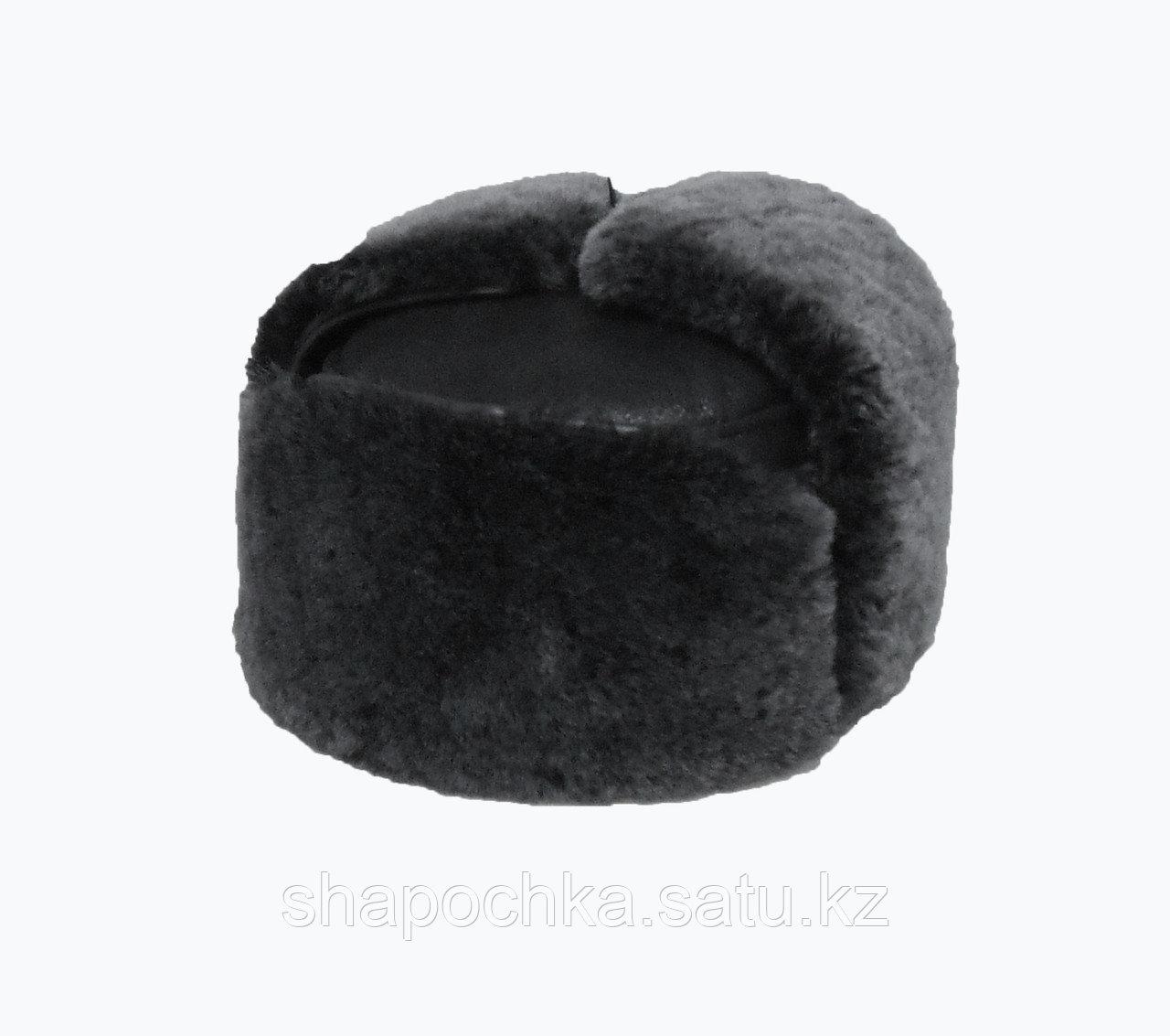 Ушанка муж овчина квадрат коричневый