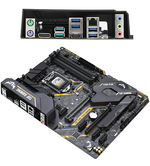 Материнская плата ASUS TUF Z390-plus Gaming MB Socket1151, ATX, iZ390 (HDMI+DP, GNIC), 4DDR4, 2PCIx16, 4PCIx1,