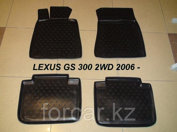 Коврики в салон LEXUS GS300 2008->, 4 шт. (бежевые), фото 2