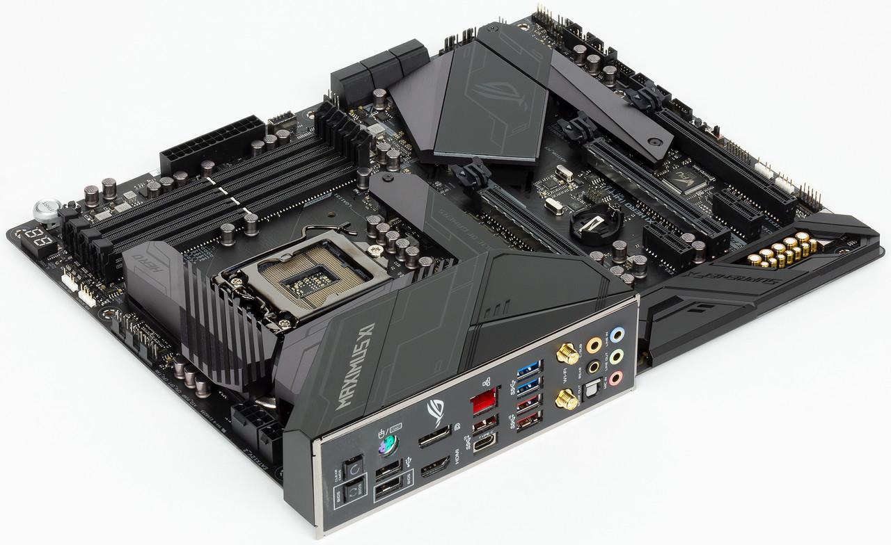Материнская плата Asus Maximus XI Hero MB Socket1151, ATX, iZ390 (HDMI+DP, GNIC), 4DDR4, 3PCIx16, 3PCIx1,