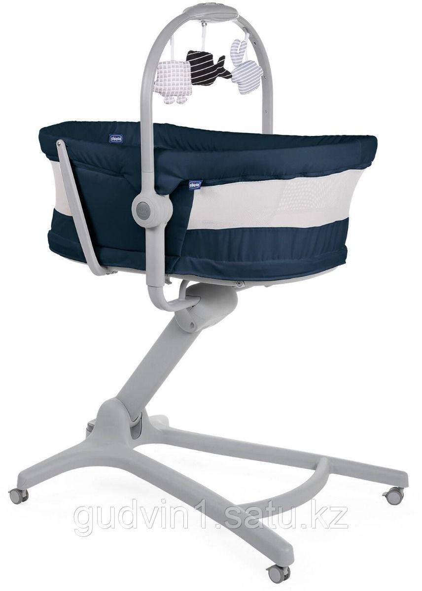 Chicco: Кроватка-стульчик Baby Hug Air 4-в-1 India Ink код: 1151500