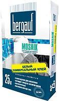 Bergauf Mosaik Клей белый для мозайки и прозрачной плитки 25 кг