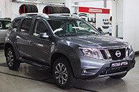 Пороги металлические. Вариант 1 Nissan Terrano 2014-, фото 2