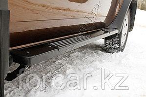 Пороги металлические. Вариант 1 Renault Duster 2010-