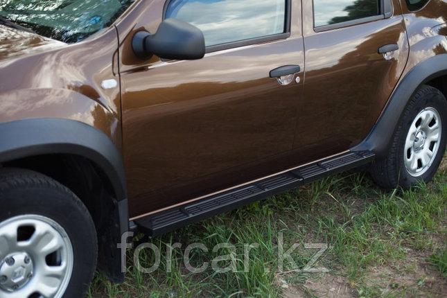 Пороги металлические. Вариант 2 Renault Duster 2010-, фото 2