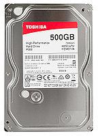 Жесткий диск Toshiba HDWD105UZSVA, 500 GB HDD SATA P300, 7200rpm, 64MB, SATA 6Gb/s, bulk