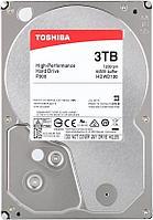 Жесткий диск Toshiba, HDWD130UZSVA, 3000 GB HDD SATA P300, 7200rpm, 64MB, SATA 6Gb/s, bulk