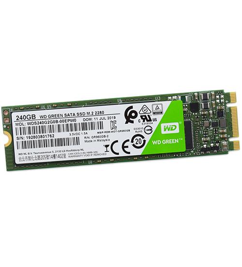 SSD M.2 SATA Western Digital Green, 240 GB WDS240G2G0B, SATA 6Gb/s