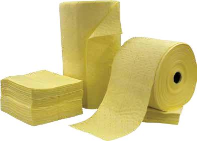 Салфетки и рулоны для химикатов Hazmat Bonded Meltblown (SM)