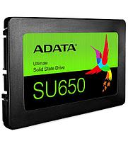SSD ADATA, 480 GB (ASU650SS-480GT-R) SATA Ultimate SU650, ASU650SS-480GT-R, SATA 6Gb/s, 3D NAND