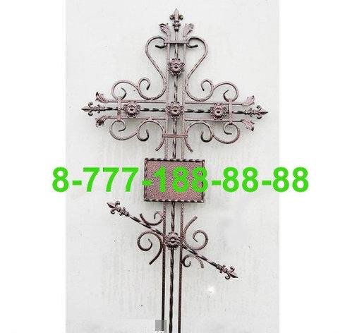 Кованые кресты на могилу №27, фото 2