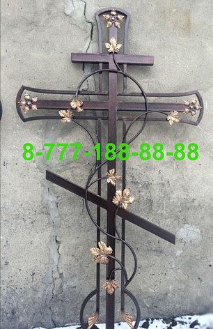 Кованые кресты на могилу №28, фото 2