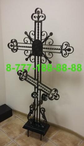 Кованые кресты на могилу №30