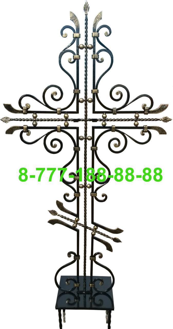 Кованые кресты на могилу №31