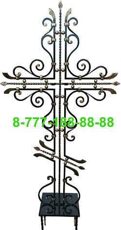 Кованые кресты на могилу №31, фото 2