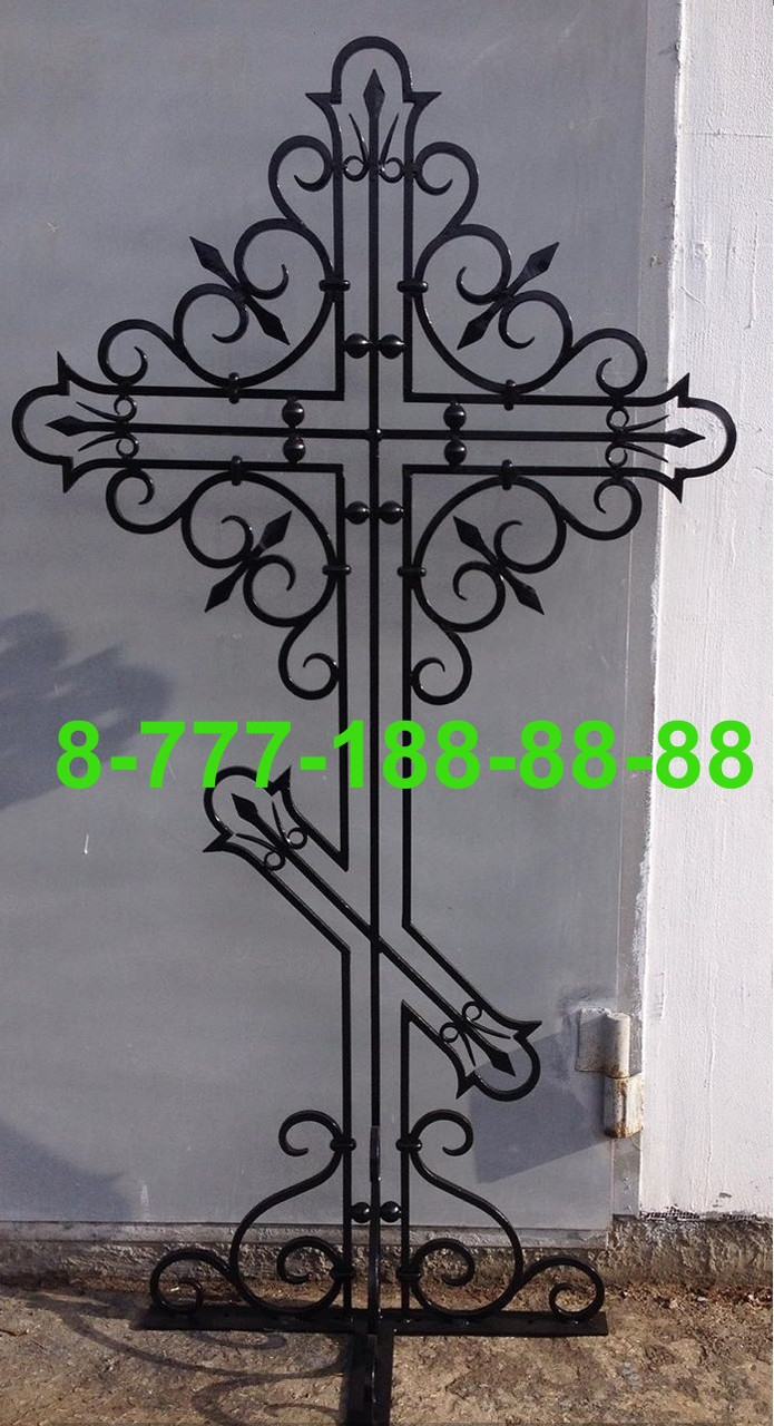 Кованые кресты на могилу №32