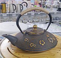 """Чайник чугунный """"Чанпин"""", 0,8л"""