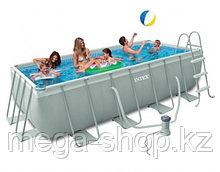 Каркасный бассейн Intex 400x200x100cм полный комплект