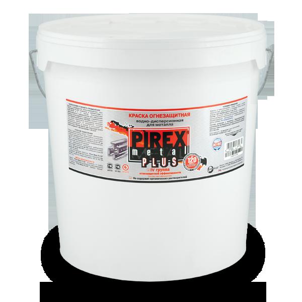 Огнезащитная краска по металлу Pirex Metal Plus