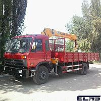 Грузовой автомобиль-Манипулятор DONGFENG-XCMG, КМУ-5 тонн, шасси-10 тонн.