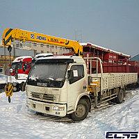 Грузовой автомобиль-Манипулятор DONGFENG-XCMG, КМУ-3.2 тонн, шасси-5 тонн.