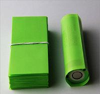 Термоусадка для аккумуляторов 18650 (зеленая)