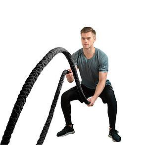 Канат для кроссфита Reebok-реплика (диаметр 40 мм) 9 метров, фото 2