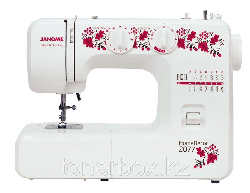 Швейная машинка JANOME HomeDecor 2077