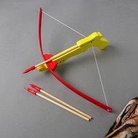 Игрушка деревянная 'Арбалет'27x49x12 см, МИКС