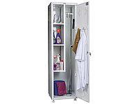 Шкаф медицинский для одежды МД 1 ШМ-SS