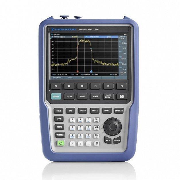 Портативный анализатор спектра Rohde Schwarz Spectrum Rider FPH до 6 ГГц