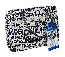 """Defender 060002 Сумка  для ноутбука Graffiti 17"""" женская (синие буквы)"""