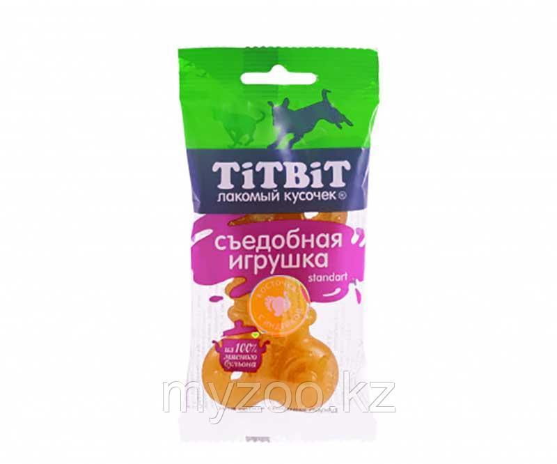 Tit Bit,Тит Бит Съедобная игрушка косточка с индейкой,для мини пород