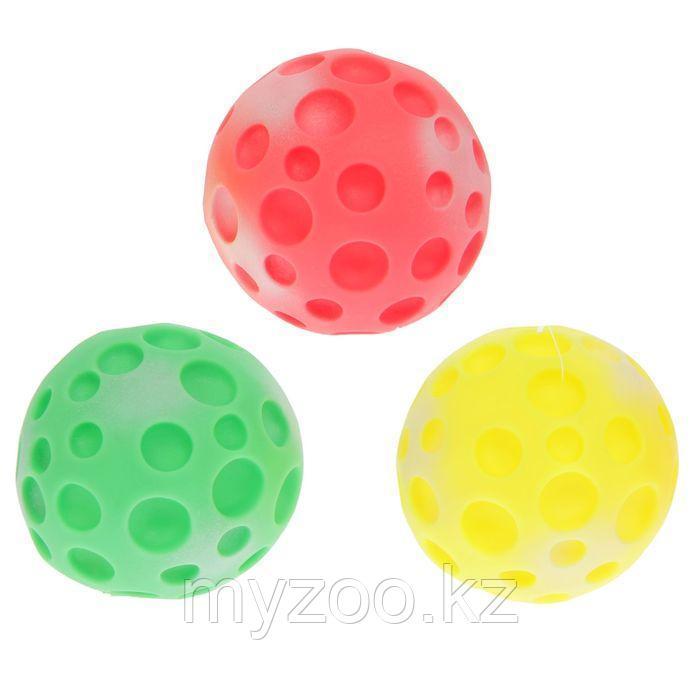 Игрушка Мяч-луна Зооник  большая 10см