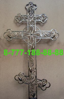Кованые кресты на могилу №35