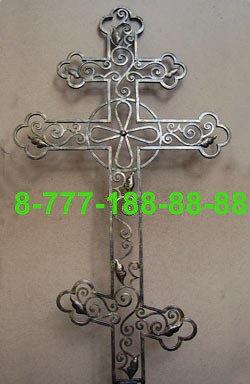 Кованые кресты на могилу №35, фото 2