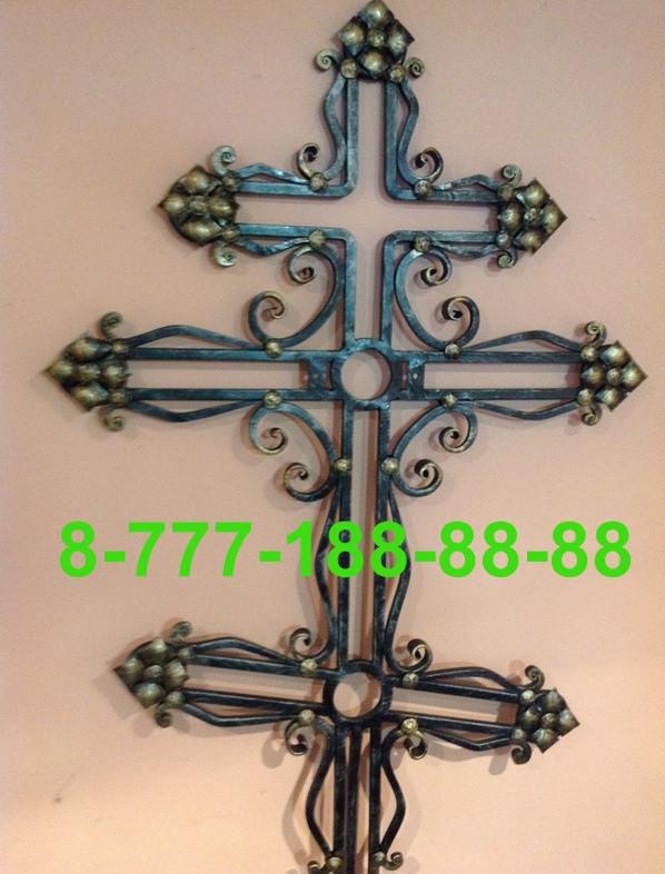 Кованые кресты на могилу №36