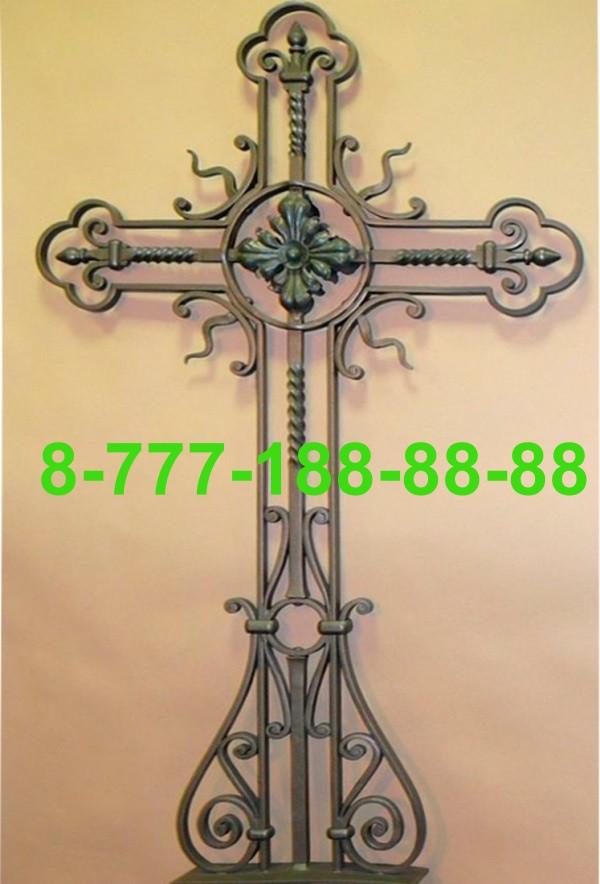 Кованые кресты на могилу №37