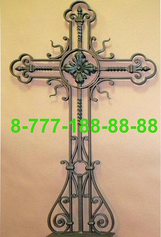 Кованые кресты на могилу №37, фото 2