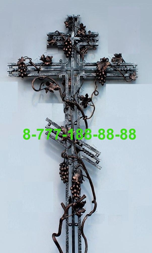Кованые кресты на могилу №38