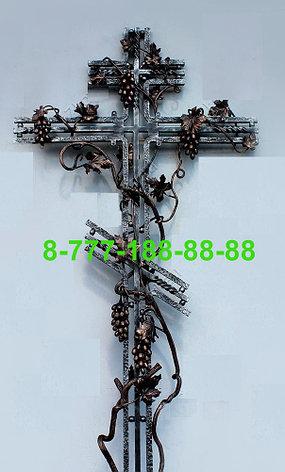 Кованые кресты на могилу №38, фото 2